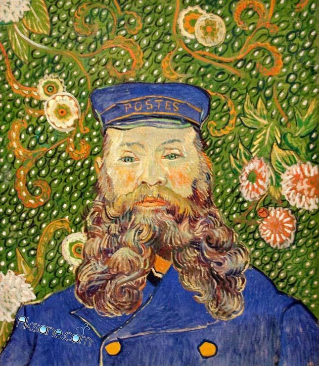 Vincent van Gogh - Joseph Roulin portréja