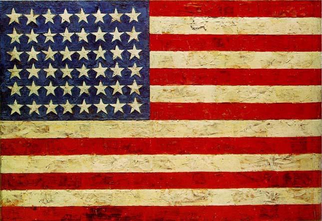 Japser Johns - Zászló
