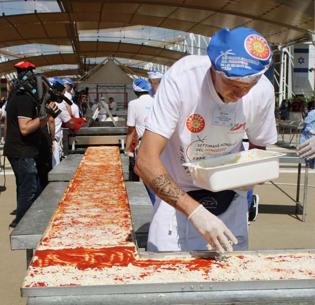Leghosszabb pizza