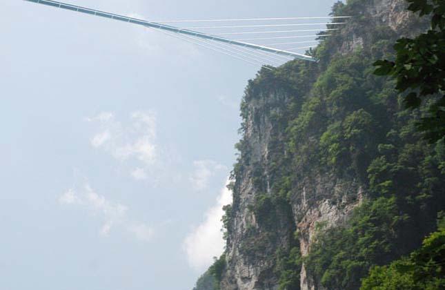 Leghosszabb üvegpadlós híd