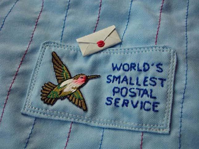 A világ legkisebb Postai Szolgáltatása