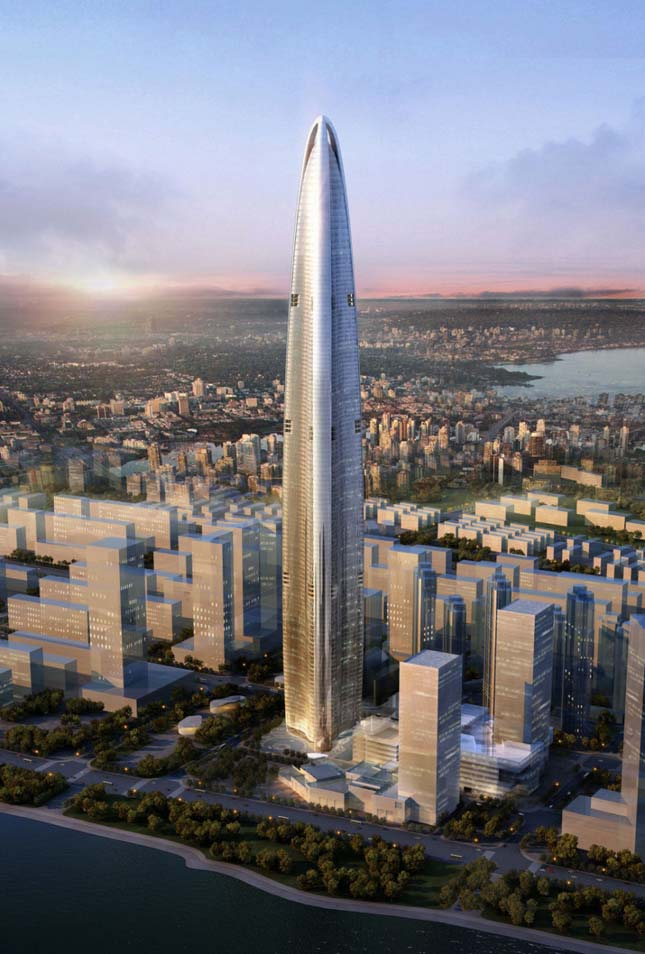 A világ legnagyobb felhőkarcolói