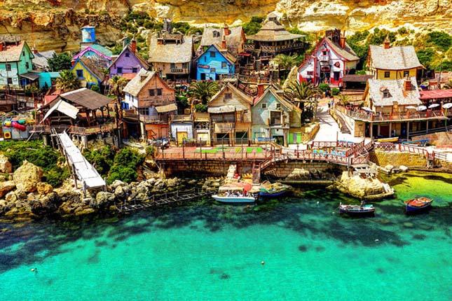 Popeye falu, Málta