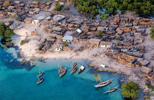Csodás kis tengerparti városka Afrikában