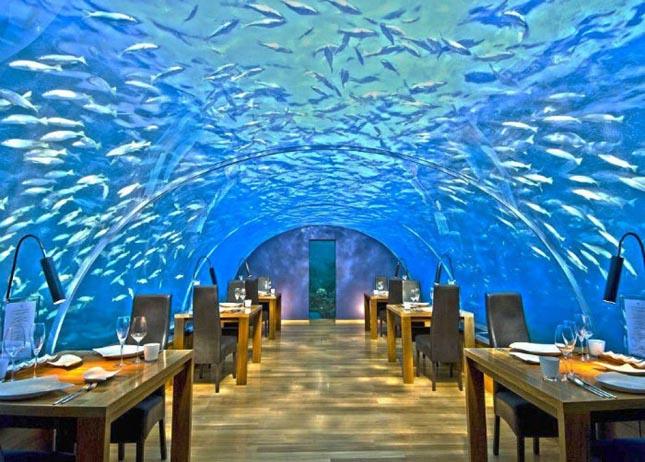 Ithaa Undersea étterem, Maldív-szigetek