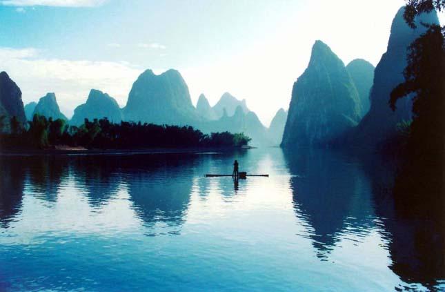 Li-folyó, Kína