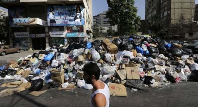 Libanoni szemétválság