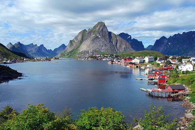 Lofoten szigetcsoport, Norvégia