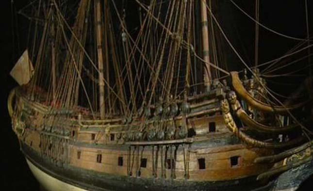 17. századi hajóroncs
