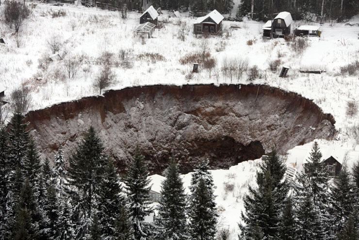 Lyuk tátong Oroszországban