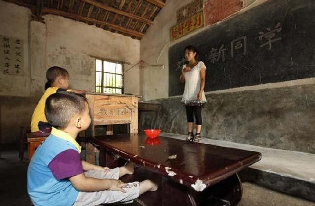 Kínai vidéki iskola