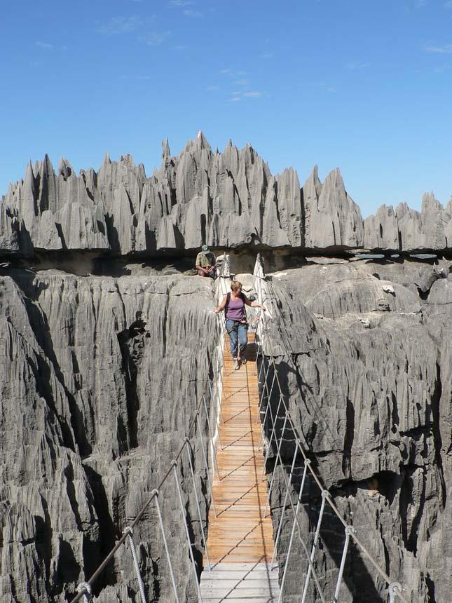 Tsingy de Bemaraha, Madagaszkár