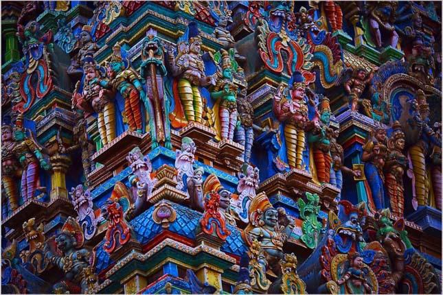 Madurai templomai, India