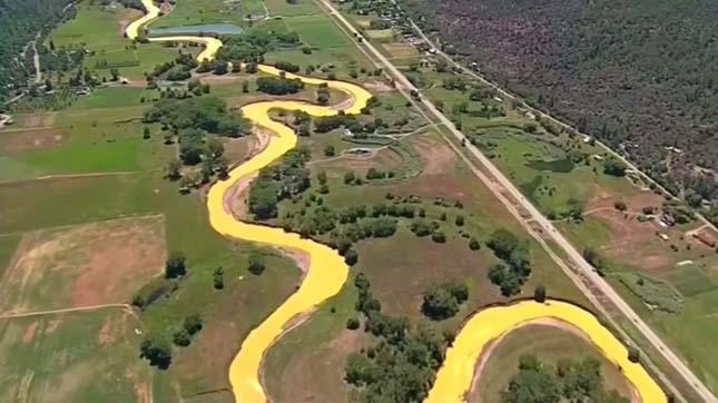 Mérgező szennyvíz ömlött ki az aranybányából