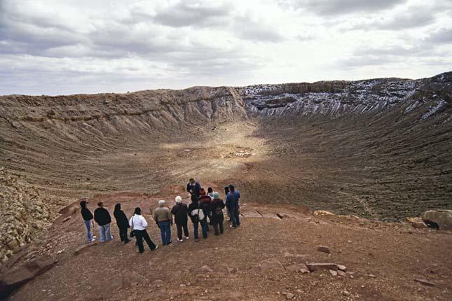 Meteor-kráter, Arizona, USA