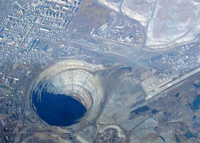 Mirnij gyémántbánya,Jakutföld