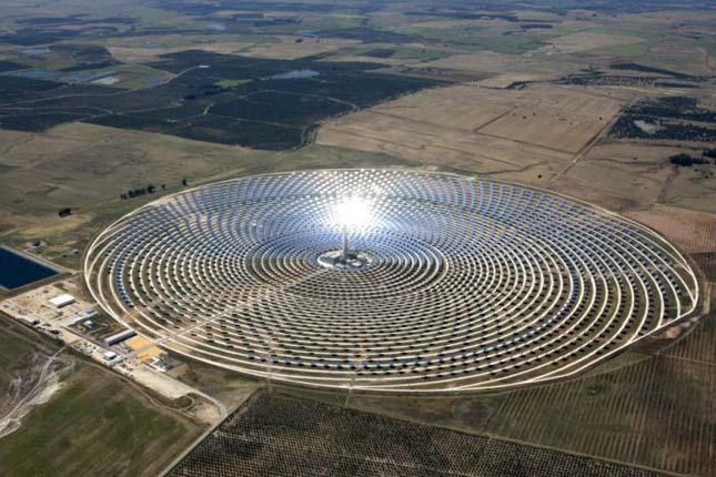A legnagyobb naperőmű