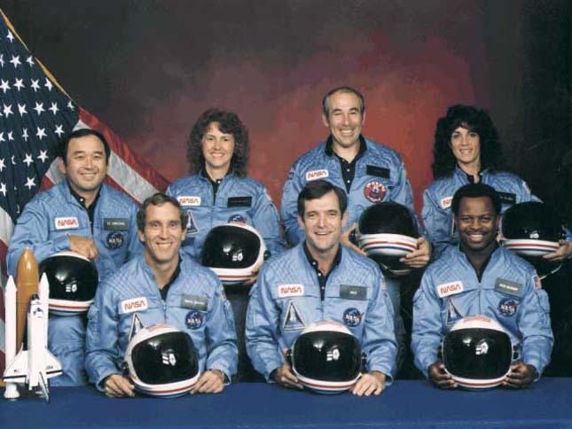NASA katasztrófák