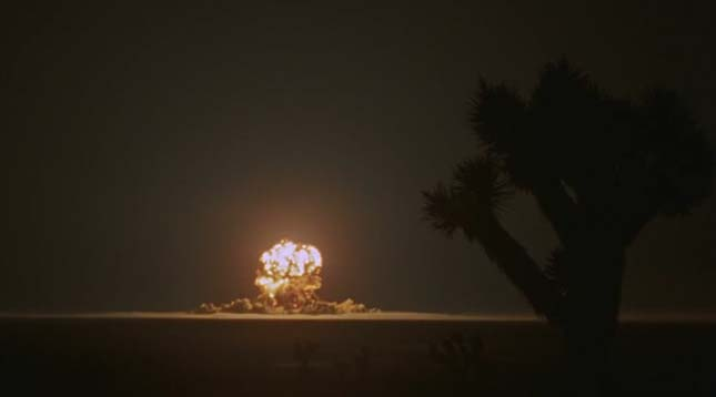 Nevadai atomkísérletek