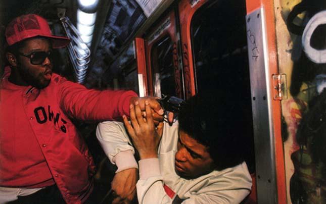 New York-i metró a 70-es években