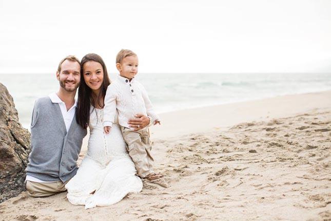 Nick Vujicic és felesége
