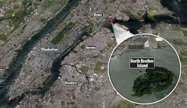 North Brother Island, kísérteties sziget