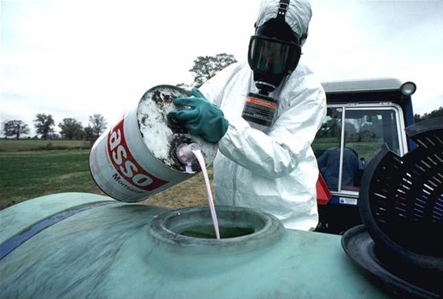 Növényvédő szerek okozta folyószennyezés
