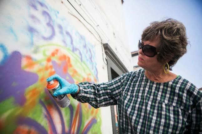 Nyugdíjas graffitisek
