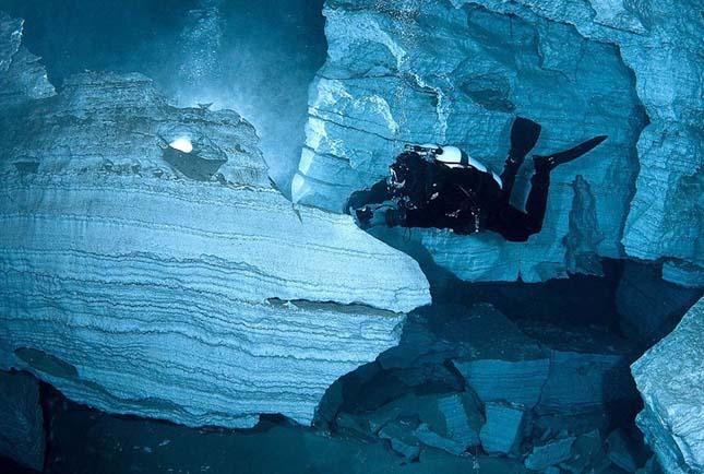 Orda barlang, a világ leghosszabb víz alatti barlangja