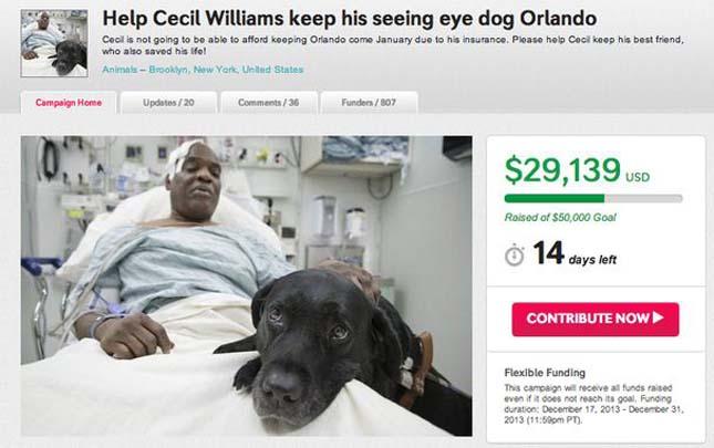 Orlando és Cecil Williams