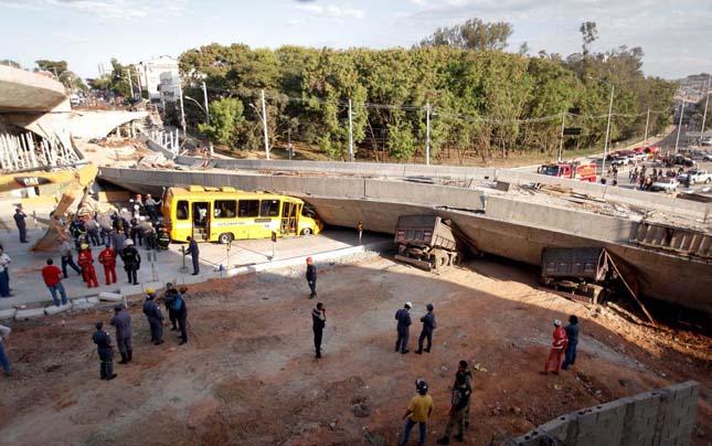 Összedőlt egy híd Brazíliában