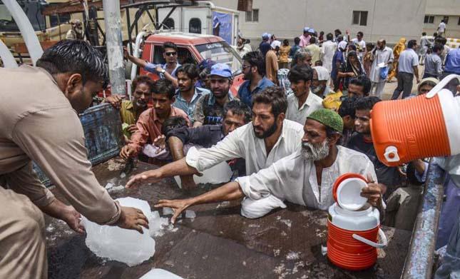 Pakisztáni forróság