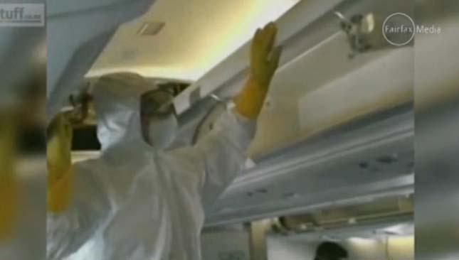 Patkányokkal volt tele egy repülőgép