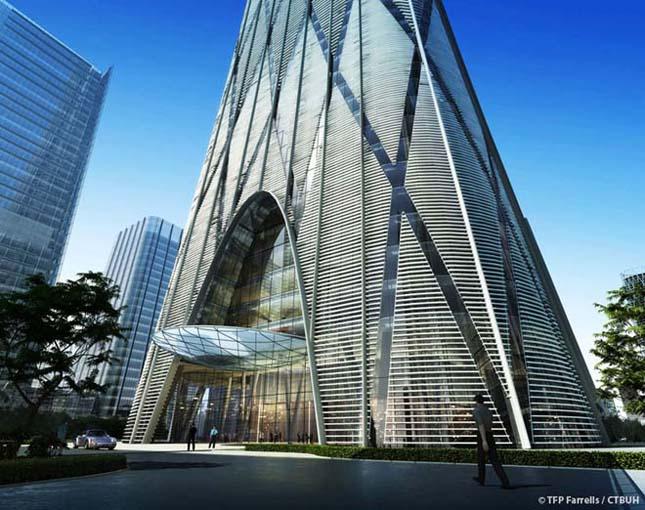 Épül Peking legmagasabb felhőkarcolója