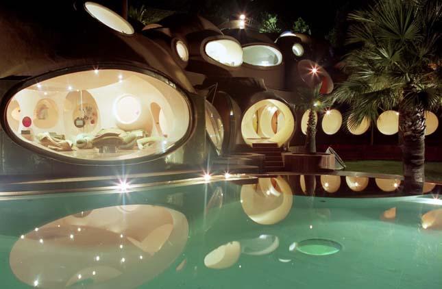 Pierre Cardin buborékvillája