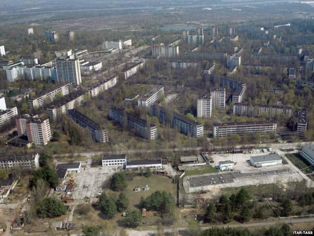 Pripyat,Ukrajna