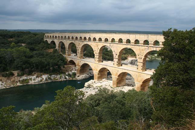 Pont du Gard Nimes, Franciaország