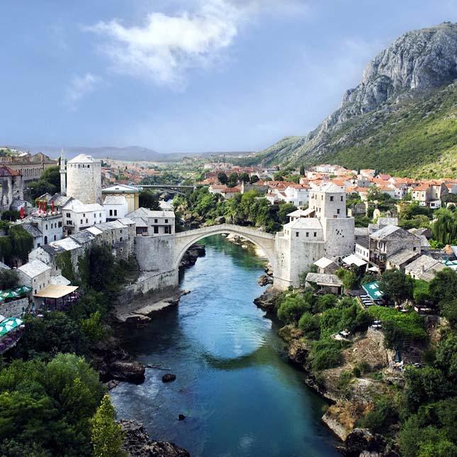 Öreg-híd, Mostar, Bosznia-Hercegovina