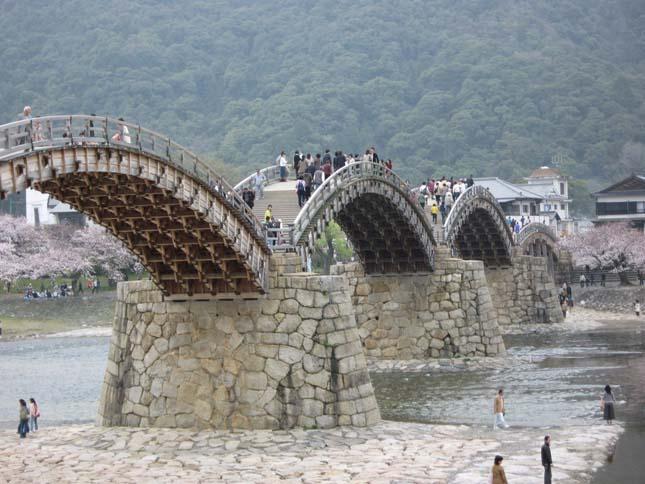 Kintai-kyo Bridge, Japán