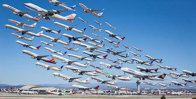 Repülőgép felszállás