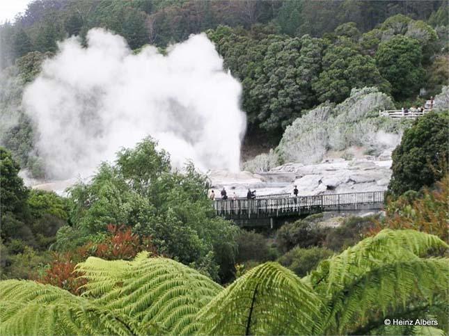 Rotoura, Új-zéland