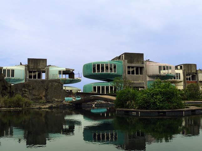San Zhi, üresen álló nyaralók Tajvanon