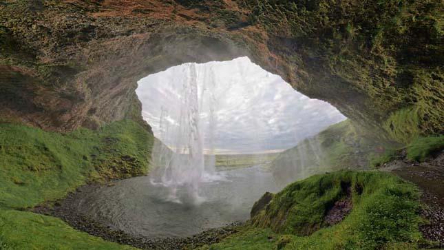 Seljalandsfoss-vízesés