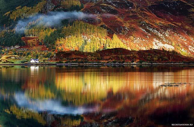 Skócia tájkép