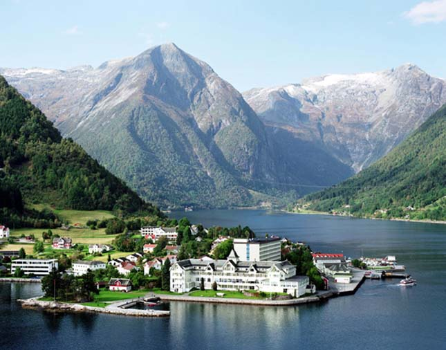 Sognefjord, Norvégia