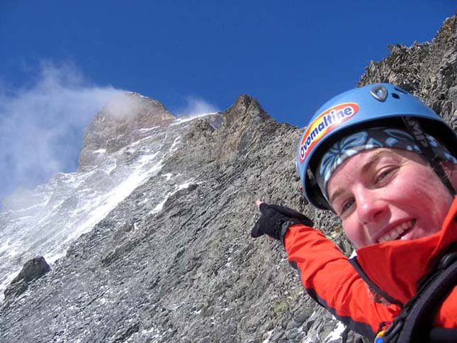Hegyi kunyhó 4003 méteres magasságban