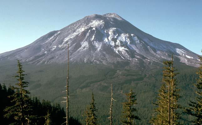 St.Helen vulkán kitörése 1980. május 18-án
