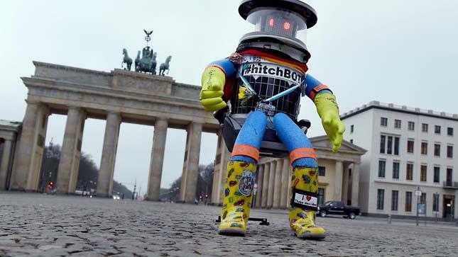 Stoppos robot