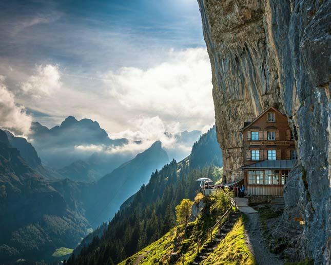 Aescher Hotel, Svájc