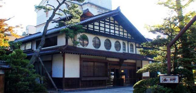 Hoshi Ryokan Hotel, Komatsu, Japán